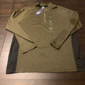 Reebok Poly Performance 1/4 Zip Pullover
